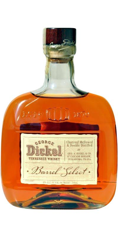 George Dickel Barrel Select Tennessee Whisky - 750 ml bottle