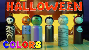 Best Halloween Candy For Toddlers by Learn Colors For Kids Children Toddlers With Halloween Bowling