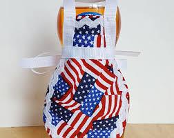 USA Dish Soap Apron Patriotic Kitchen Decor Accessories American Flag