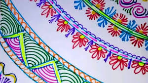 Decoration Of Chart Border Easy Simple And Attractive Border Designs
