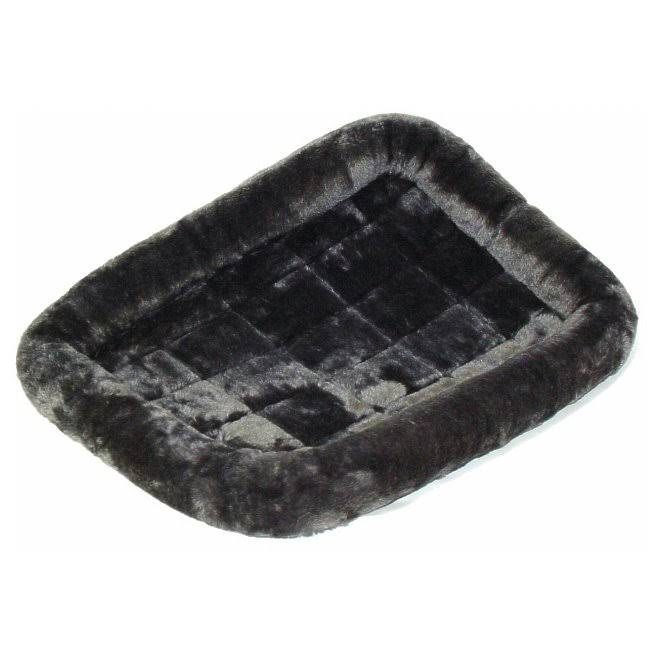 "Midwest Quiet Time Pet Bed - Grey, 24""x18"""