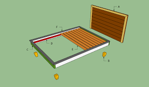Platform Bed Frame Queen Diy by Bed Frame Queen Platform Bed Frame Plans Bed Frames