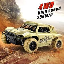 100 Short Course Truck 4WD RC Car 118 24G OffRoad Electric Buggy