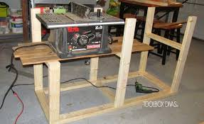 Kobalt 7 Wet Tile Saw With Stand by Table Saw Workbench With Wood Storage