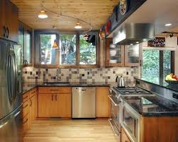 galley kitchen track lighting ideas pictures small subscribed me