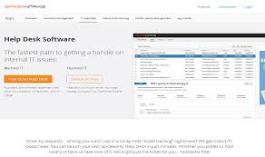 Solarwinds Web Help Desk Demo by Top Free U0026 Open Source Help Desk Software To Run Your Business