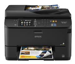 Amazon Epson WorkForce Pro WF 4630 Wireless Color All In One Inkjet Printer With Scanner And Copier Electronics