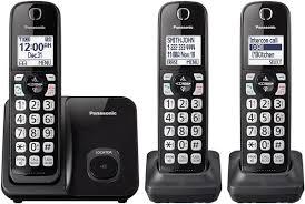 Panasonic Black Expandable Cordless Phone - KX-TGD513B Panasonic Cordless Phone And Answering Machine With 2 Kxtgf342b Voip Phones Polycom Desktop Conference Kxtgc223als Reviews Productreviewcomau Design Collection Phone Answering Machine Voip8551b Kxtgp550 Sip System Kxtg6822eb Twin Dect Telephone Set Amazonco Officeworks Kxtg5240m 58 Ghz Fhss Gigarange Supreme Expandable Kxtgp0550 For Smb Youtube Kxtgp 500 Buy Ligo Amazoncom Kxtgd220n 60 Digital Corded Home Office Telephones Us