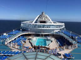 Star Princess Baja Deck Plan by Caribbean Princess Cruise Ship Reviews And Photos Cruiseline Com