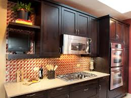 Kitchen Backsplash Ideas With Dark Oak Cabinets by Kitchen Cabinet Hardware Ideas Pictures Options Tips U0026 Ideas Hgtv