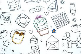Kawaii Coloring Pages Hexagon Printable Picture Crush