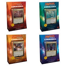 Premade Commander Decks 2017 by Magic