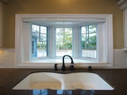 Kitchen Bay Window Over Sink by Garden Kitchen Windows Bay Window Above Kitchen Sink Small