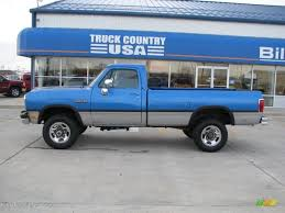 1992 Banzai Blue Metallic Dodge Ram 250 LE Regular Cab 4x4 #40064373 ... Dodge Ram Pickup Heater Core Replacement 89 93 Cummins Diesel 1992 Ram 250 Photos Specs News Radka Cars Blog 350 Information And Photos Zombiedrive W250 Old And In The Way Power Magazine Chrysler Truck Sales Brochure Past Of The Year Winners Motor Trend Vin 3b7km23c0nm506897 Autodettivecom Ramv8chargers Profile In Saskatoon Sk Cardaincom Blackdragon007 Wseries Le For Sale On Bat Auctions Sold 1999 1500 Addon Replace Gta5modscom