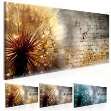 details zu wandbilder pusteblume abstrakt natur leinwand bilder wohnzimmer b c 0180 b b