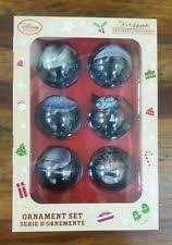 Nightmare Before Christmas Tree Toppers Bauble Set by Nightmare Before Christmas Set Disneyana Ebay