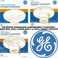 Keyless Lamp Holder Ground by Light Bulb Outlet Ebay