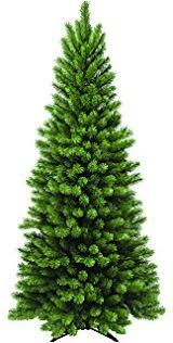 Downswept Pencil Christmas Tree by Amazon Com 7 Ft Feel Real Downswept Douglas Slim Artificial