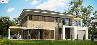100 Modern Two Storey House Design Zx63 B A Modern Twostorey House With An Envelope