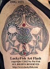 Honour Thistle Celtic Tattoo Design 1
