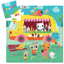 100 Ice Cream Truck Products Djeco 16pcs Mini Puzzle My Sweet Muffin