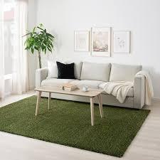 vindum teppich langflor grün 200x270 cm ikea österreich