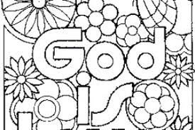 I Love God Coloring Pages