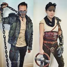 Purge Halloween Mask Couple by Our Couples Costumes For Halloween 2015 Mad Max Fury Road Max