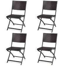 Costway 4 PCS Patio Folding Deck Sling Back Rattan Chair Camping Garden  Pool Beach Lawn Ipirations Walmart Folding Chair Beach Chairs Target Fundango Lweight Directors Portable Camping Padded Full Back Alinum Frame Lawn With Armrest Side Table And Handle For 45 With Footrest Kamprite Sun Shade Canopy 2 Pack Details About Large Rocking Foldable Seat Outdoor Fniture Patio Rocker Cheap Kamileo Cup Holder Storage Pocket Carry Bag Included Glitzhome Fishing Seats Ozark Trail Cold Weather Insulated Design Stool Pnic Thicker Oxford Cloth Timber Ridge High Easy Set Up Outdoorlawn Garden Support Us 1353 21 Offoutdoor Alloy Ultra Light Square Bbq Chairin