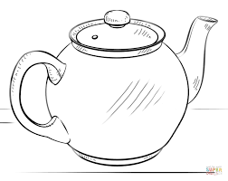 Kitchen Ware Coloring Pages