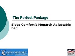Sleep Comfort Adjustable Bed by Monarch Adjustable Bed