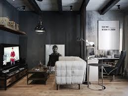 wohnzimmer in schwarz grau weiß gestalten moderne