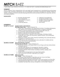 Modern Resume Administrative Assistant