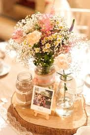 Weddings Table Decorations Country Rustic Wedding Centerpiece Ideas Picture