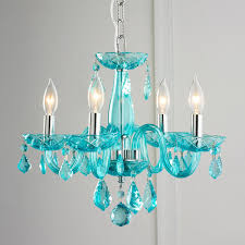 Color Crystal Mini Chandelier Enjoy The Sparkle From This