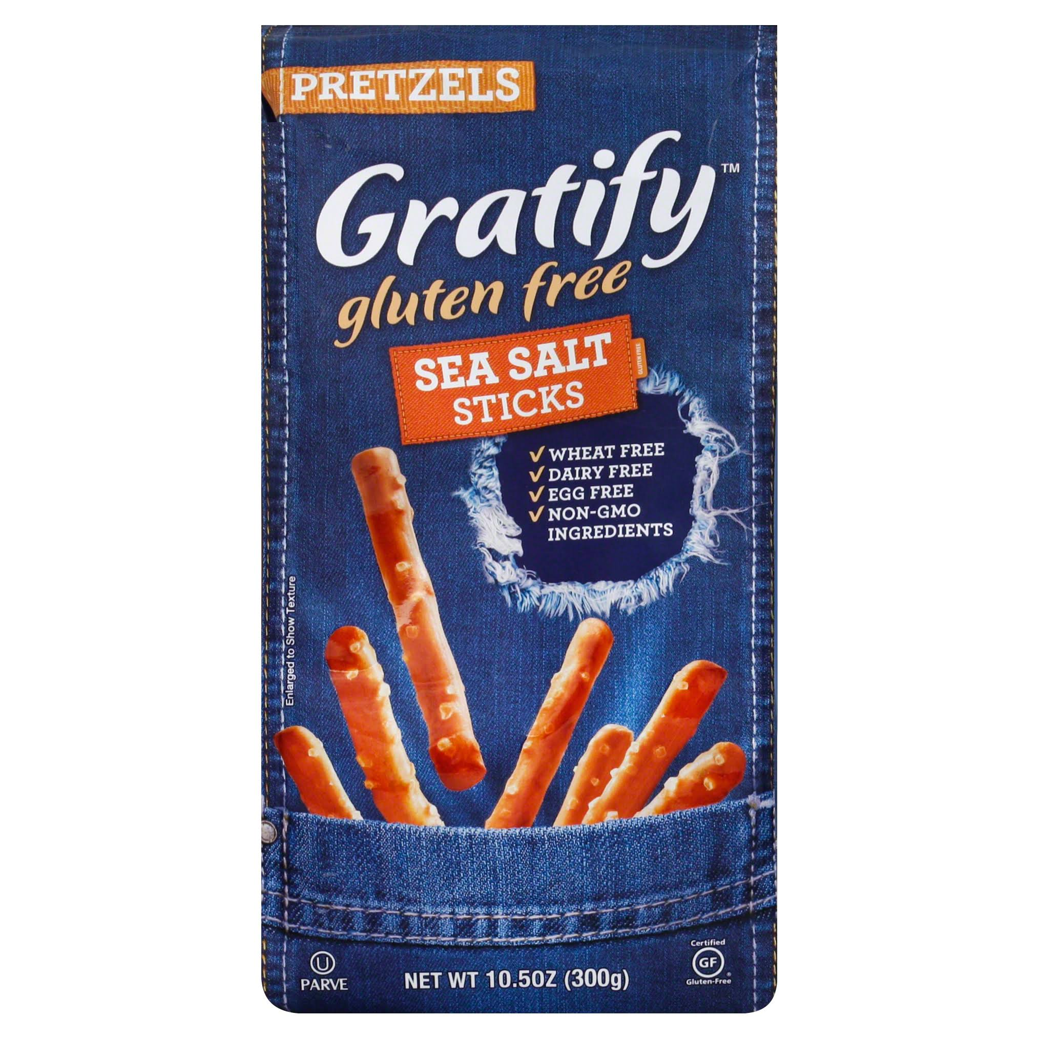 Gratify Gluten Free Pretzel Sticks - Sea Salt