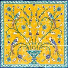 painted ceramic tile murals