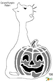 Unicorn Pumpkin Stencil by Cat Stencils For Pumpkin Carving Free Pumpkin Carving Stencils