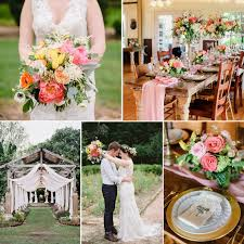 A Bright Beautiful Boho Vintage Garden Wedding