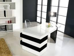 bureau blanc et bureau design laque blanc bureau design laquac blanc et noir bureau
