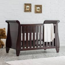 Bedroom: Awesome Dark Brown Sleigh Crib Design With Rugs And ... Stanley Young America Boardwalk Builttogrow Acclaim Convertible The Backyard Boutique By Five To Nine Furnishings Pottery Barn Crib Creative Ideas Of Baby Cribs Larkin Espresso Blankets Swaddlings White With Kids Nursery Event Httpmonikahibbscom Oh Be Best 25 Crib Ideas On Pinterest Barn Discount Register Mat Sleigh As Well Quinn Laurel 4in1 Davinci Blythe Cot Vintage Grey