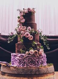 Wedding Cake Cakes Gold And Purple Awesome Pictures