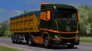 1.31] Euro Truck Simulator 2 | HQ Mercedes Benz New Actros (2014 ...