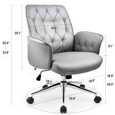100 Stylish Office Chairs For Home Amazoncom COMHOMA Modern Chair Vegan Leather