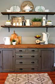 Brilliant Dining Room Sideboard Buffet Server Console Table And Hutch Furniture Decorating Buffets Sideboards Tall