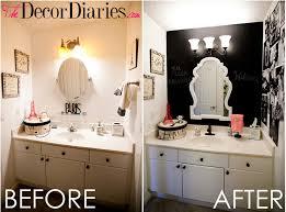 Guest Bathroom Wall Decor Diaries By Scarlett Lillian Our Chalkboard