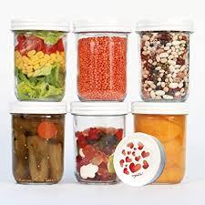 megusta 6er set einmachgläser 480 ml 12 etiketten klares glas mit deckel in herz design als einweckgläser zum backen auch für hundeleckerli