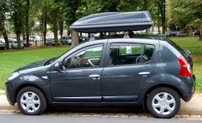 coffre de toit dacia 400 litres pour voiture dacia inside coffre