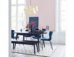 ETTA Dining Set With Black Stained Oak Extending Table, A Stained Oak Bench  And 4 Blue Velvet Chairs Small Round Ding Table In Black With 4 Teal Blue Velvet Chairs Rhode Island Kaylee Remarkable Navy Set Tufted Uptown Chair Silver Leaf Including Modern Lovely Pink Upholstered Gold Room Metal Frame Of 2 Extraordinary Covers Slipcovers A Rustic Elegant Thanksgiving Eclectic Living Room Home White Extendable 6 Vivienne Jenna Belinda Ding Chair Navy Khamila Fniture Store Kallekoponnet Kitchen Design Tiffany Slate Amusing