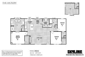 Clayton Homes Floor Plan Search by The Victory D632 By Skyline Homes